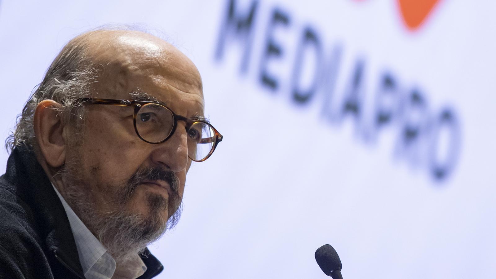 Jaume Roures, CEO de Mediapro avui a París