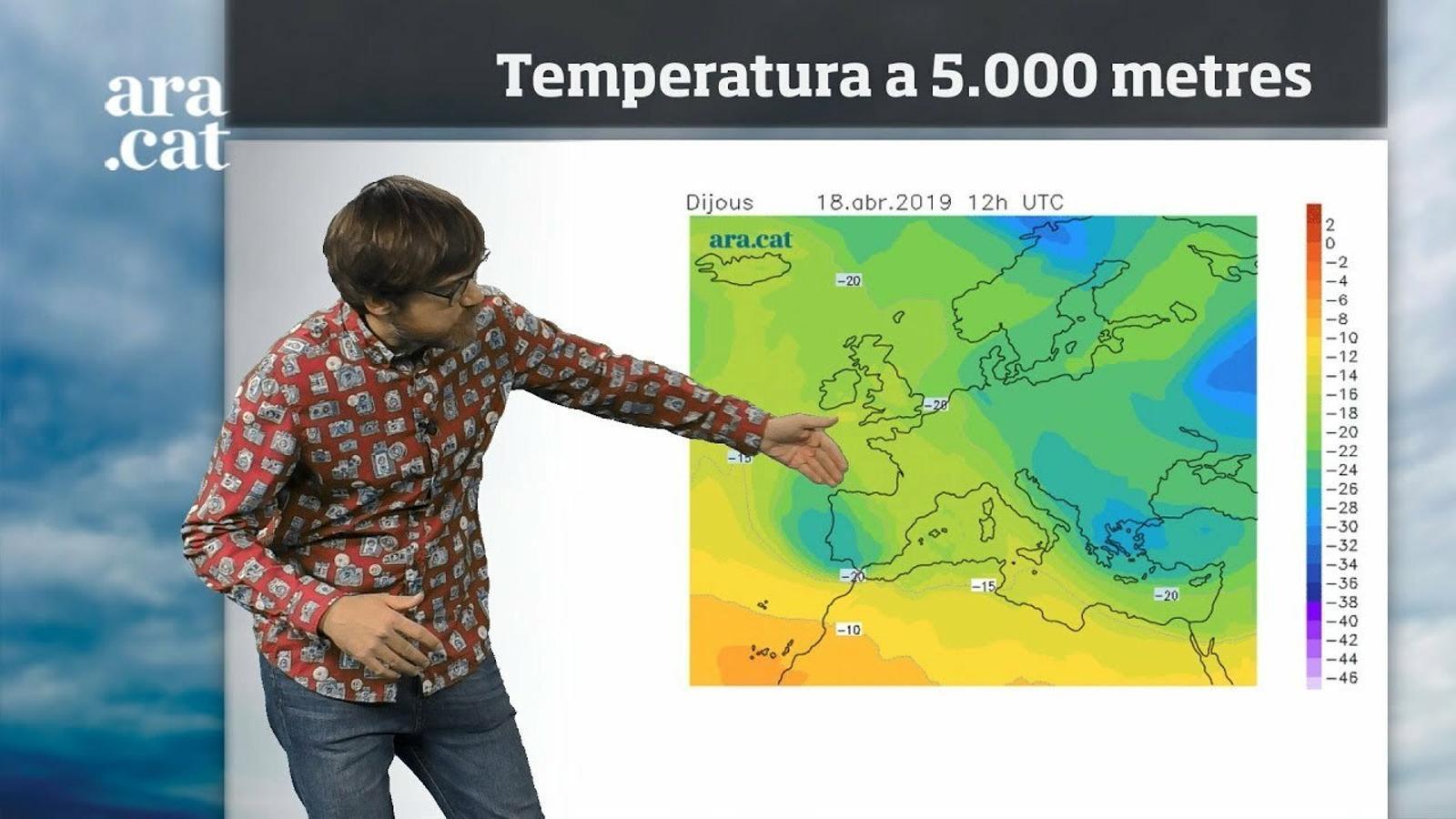 Méteo especial: temps canviant, vent i poca calor