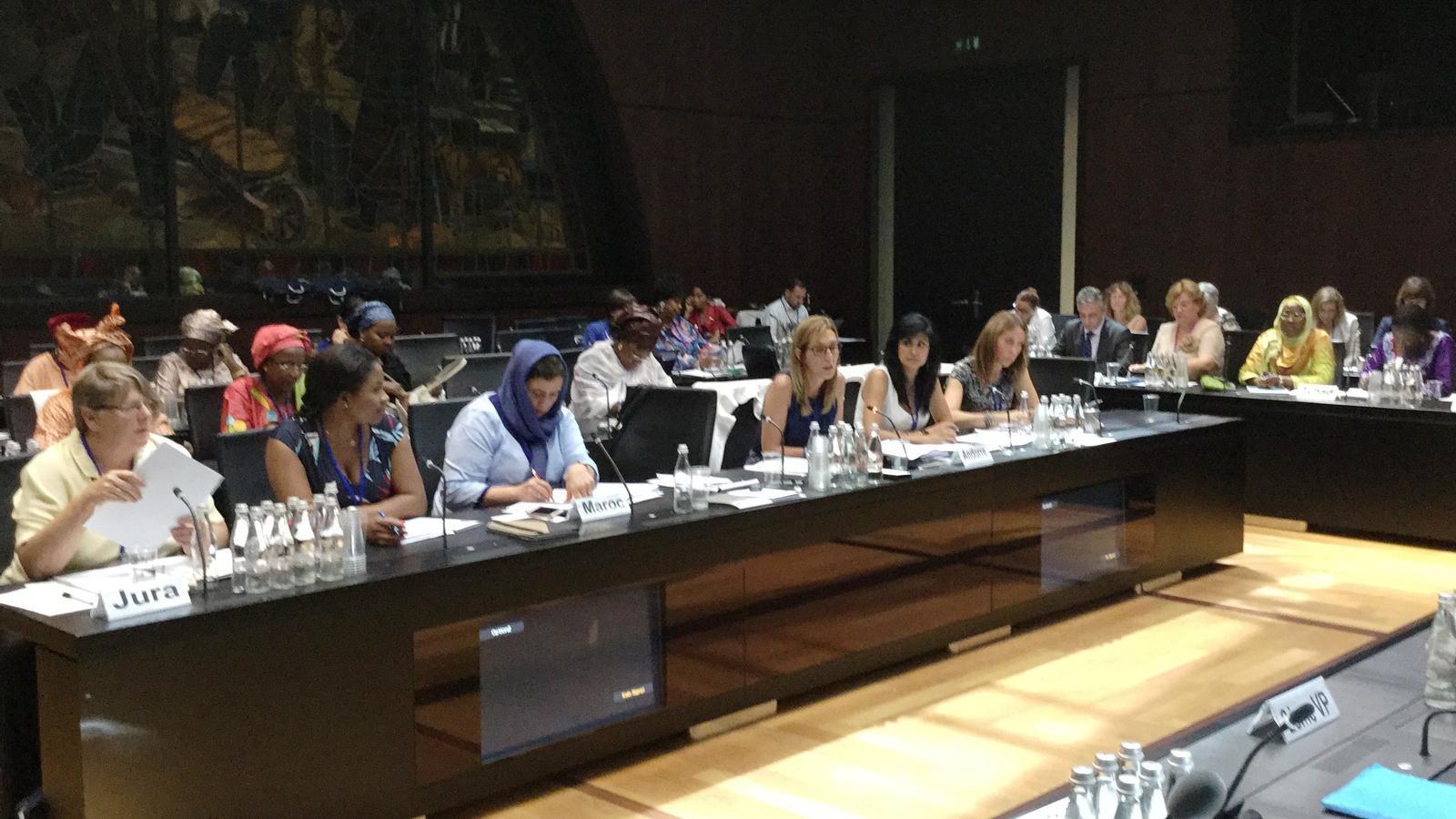 Una participació recent d'una delegació del Consell General a la xarxa de dones parlamentàries de la Francofonia