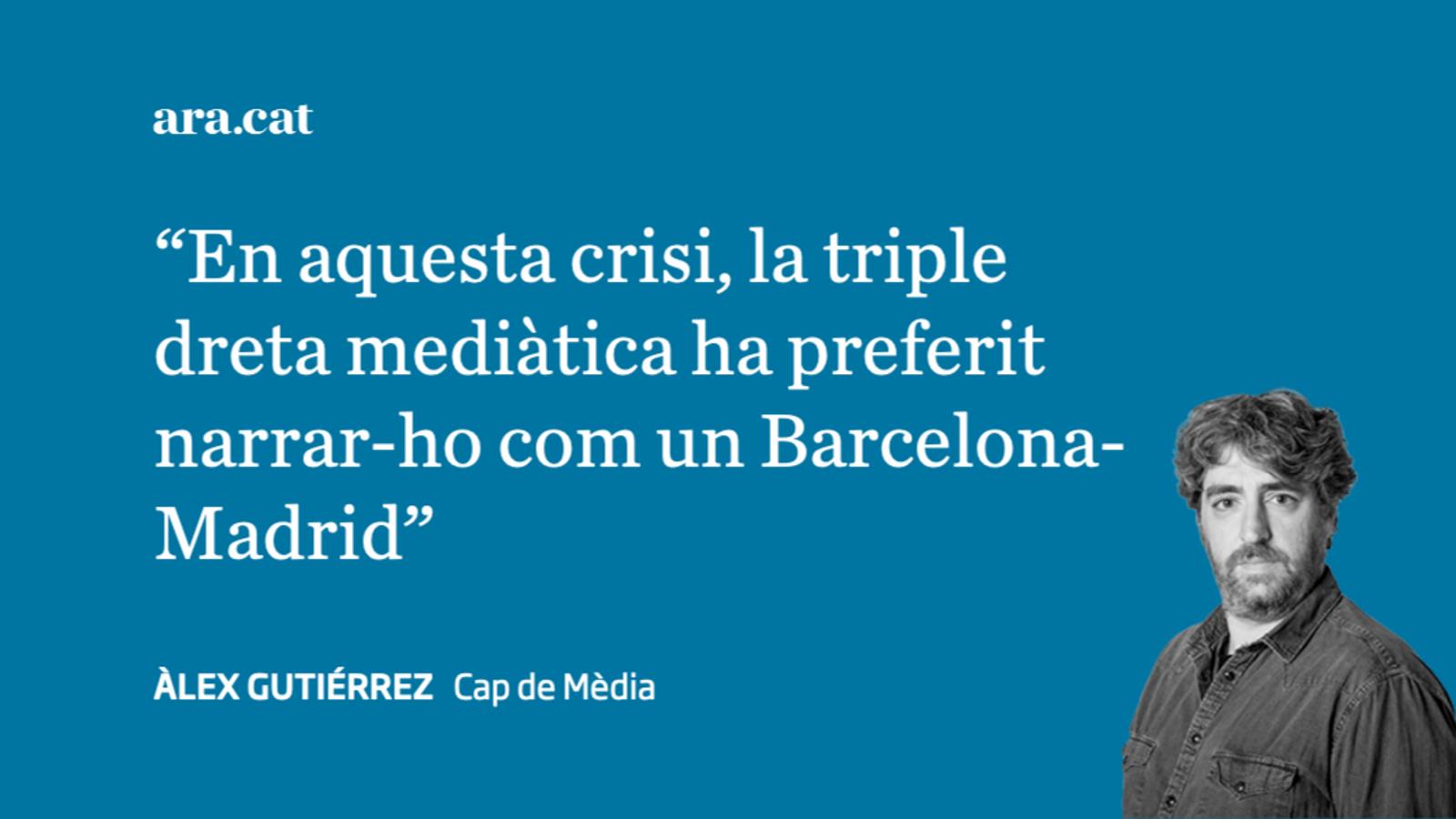 Els que han narrat la pandèmia com un sinistre Barça-Madrid