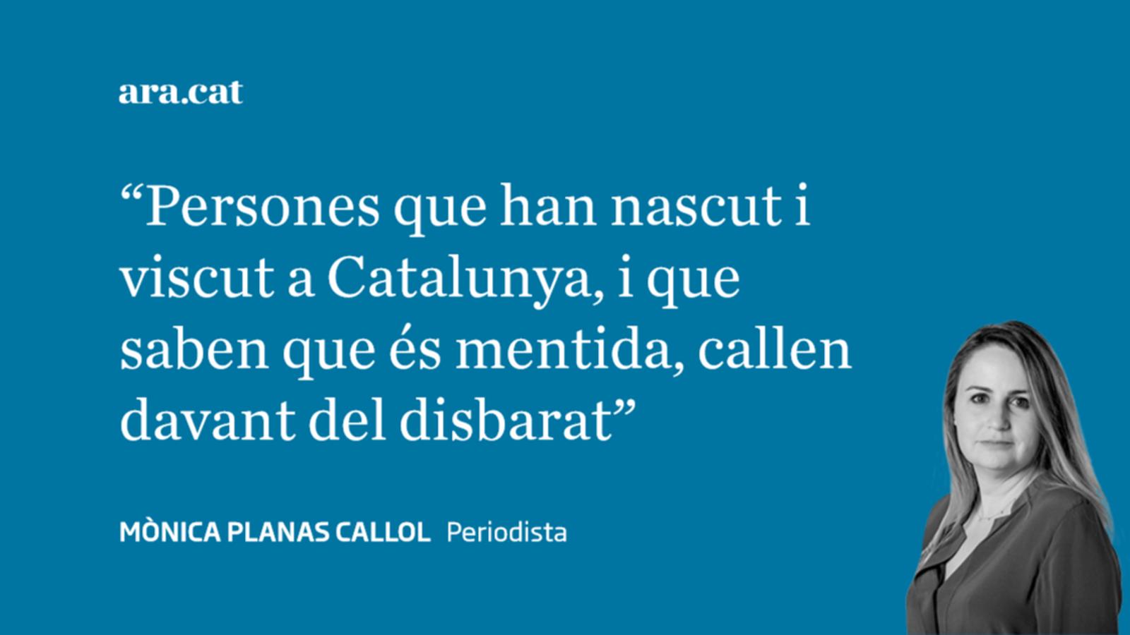 Les mentides del català i els que callen