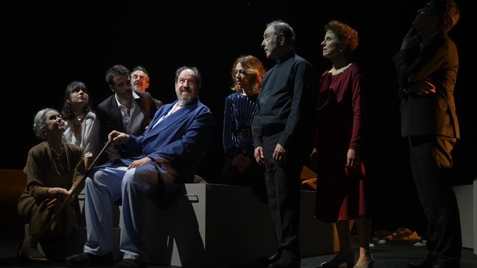 'Justícia' està protagonitzada per Josep Maria Pou, que interpreta un jutge jubilat