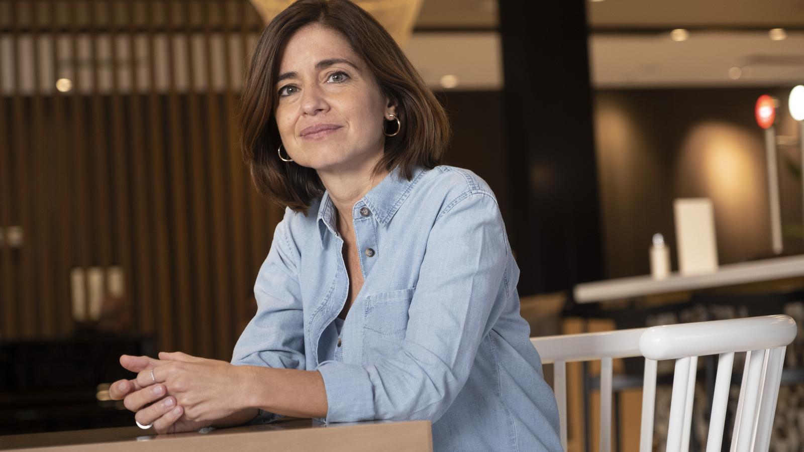 Marta Orriols fotografiada a Barcelona