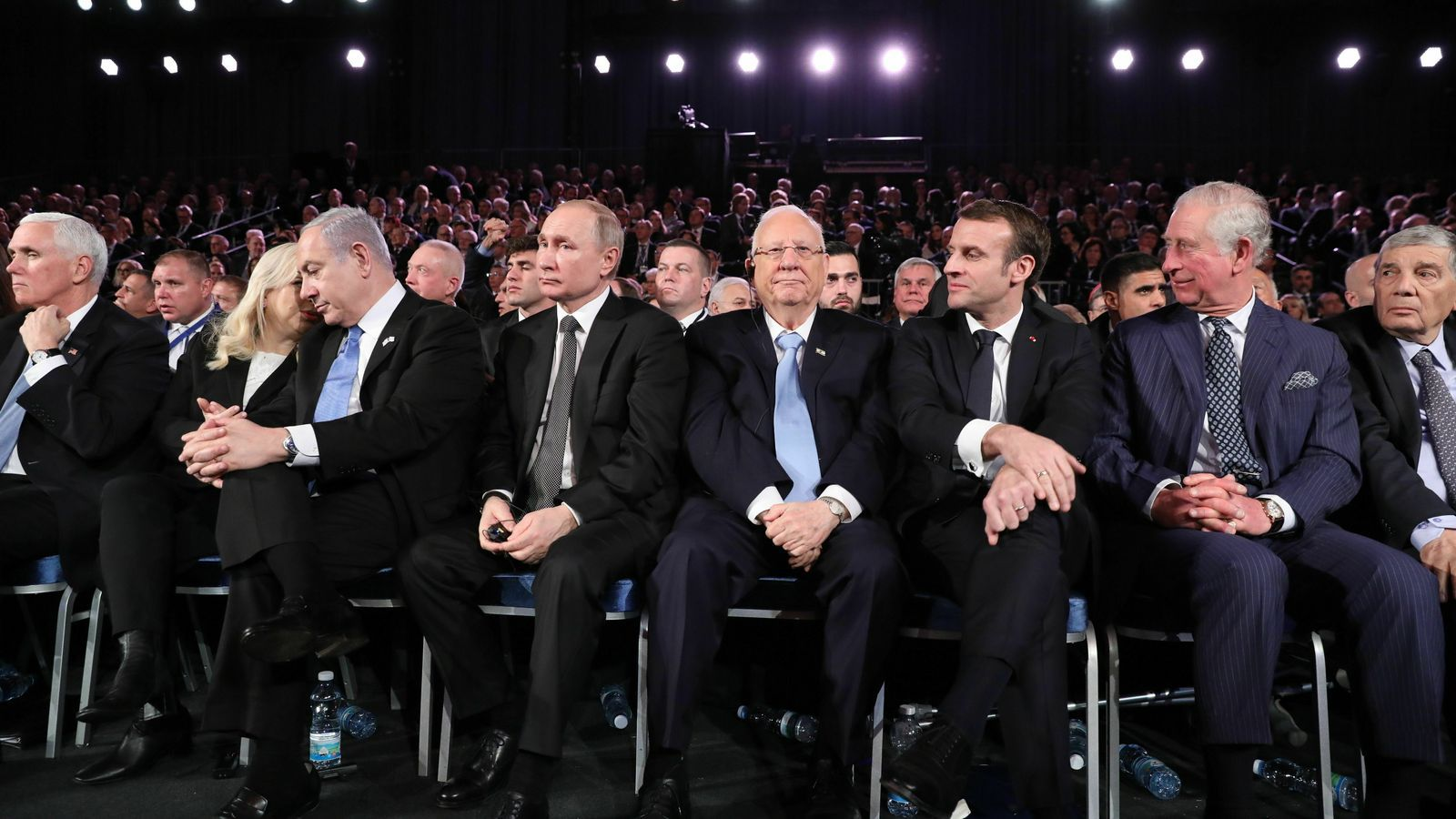 Netanyahu aprofita un acte sobre l'Holocaust per carregar contra l'Iran