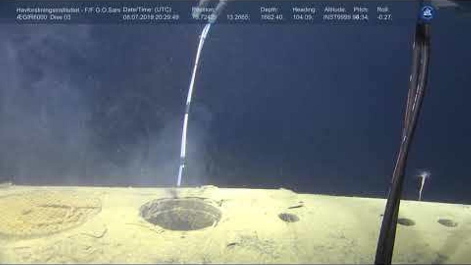 Un submarí nuclear soviètic enfonsat a Noruega segueix emetent radiació