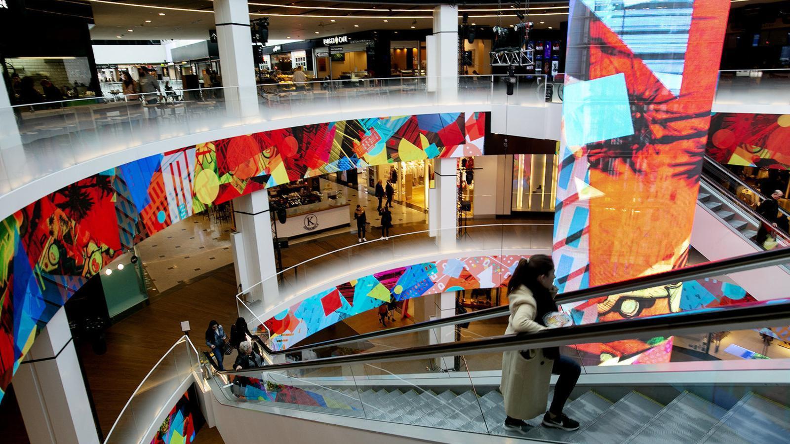Els centres comercials podran reobrir amb el 30% de l'aforament a partir de dilluns