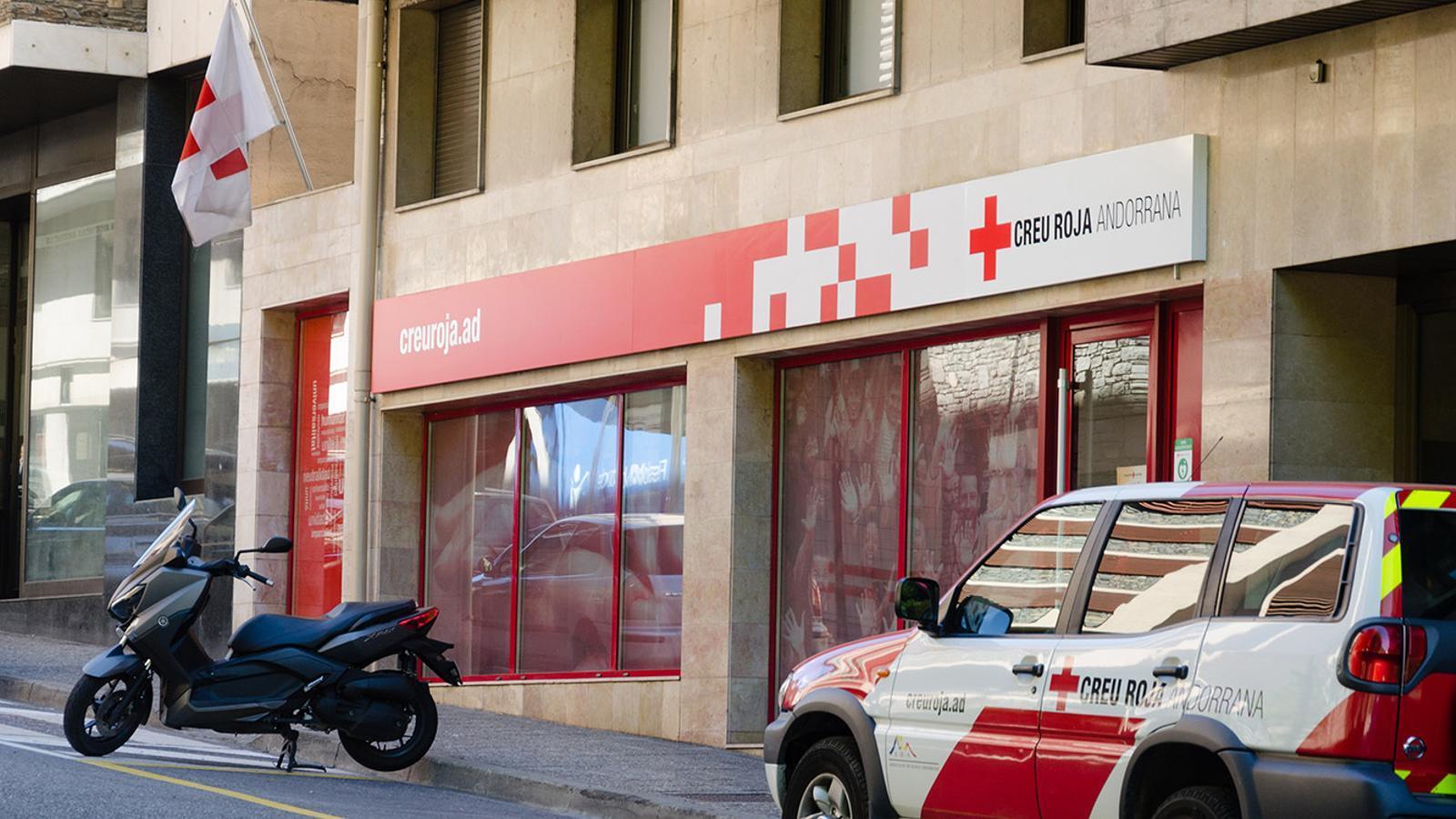 Façana de la Creu Roja. / ARXIU ANA