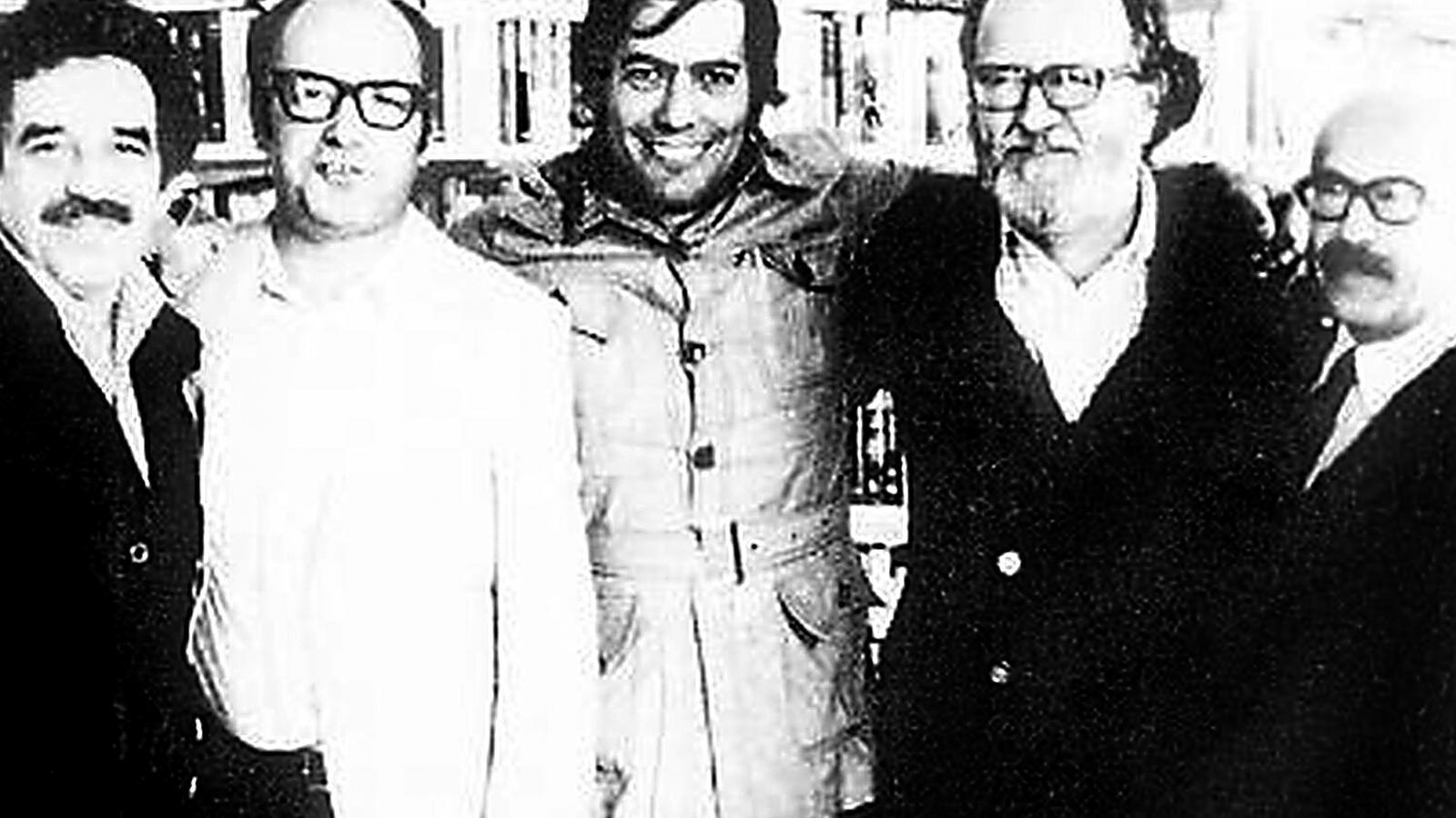 García Márquez, Vargas Llosa i Donoso, entre d'altres. El boom era proper a Mallorca