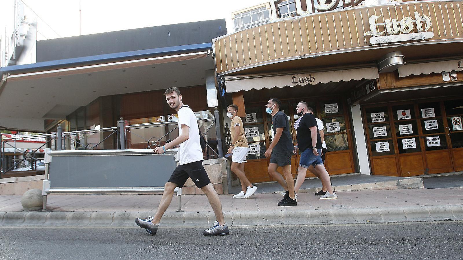 La quarantena imposada                per Londres afavoreix els competidors de les Balears