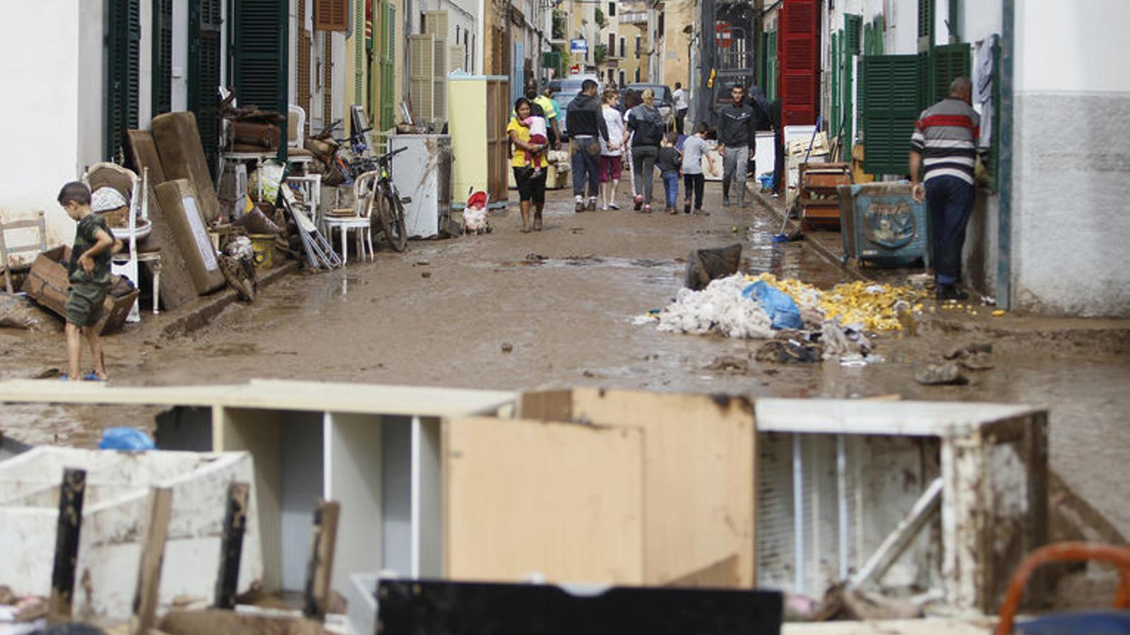 Un mes de la torrentada al Llevant de Mallorca