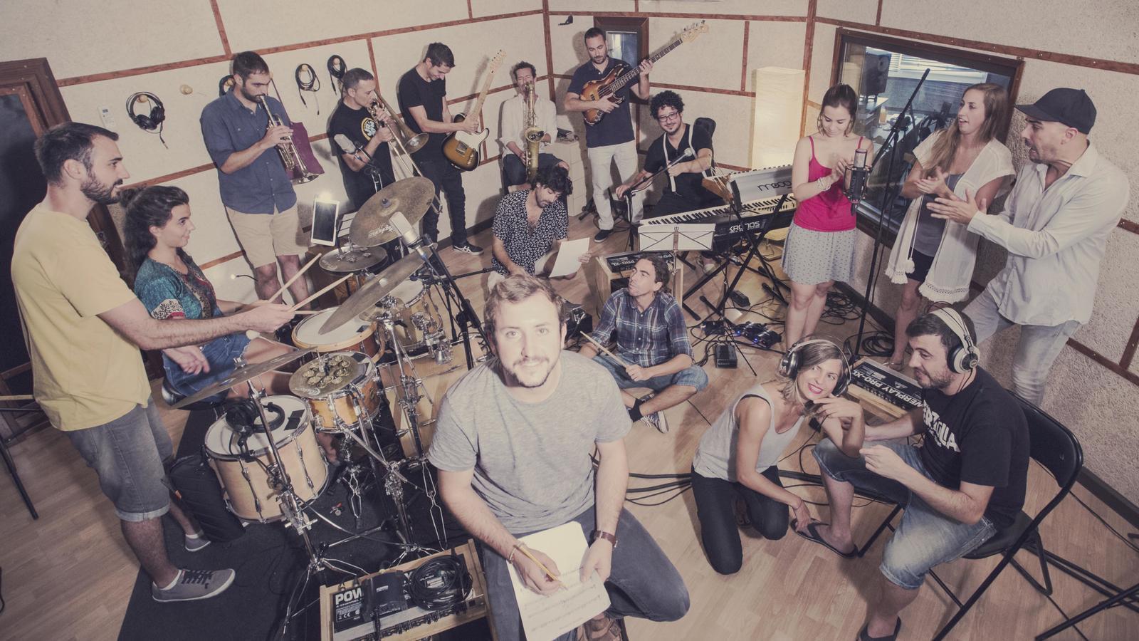 HHighlands Project durant la gravació del disc.