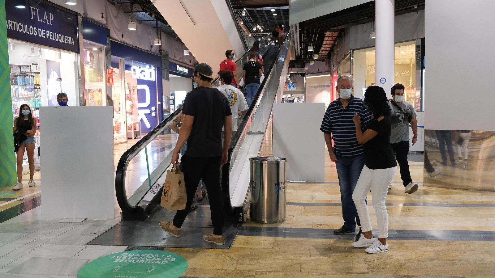 El centre comercial de Porto Pi