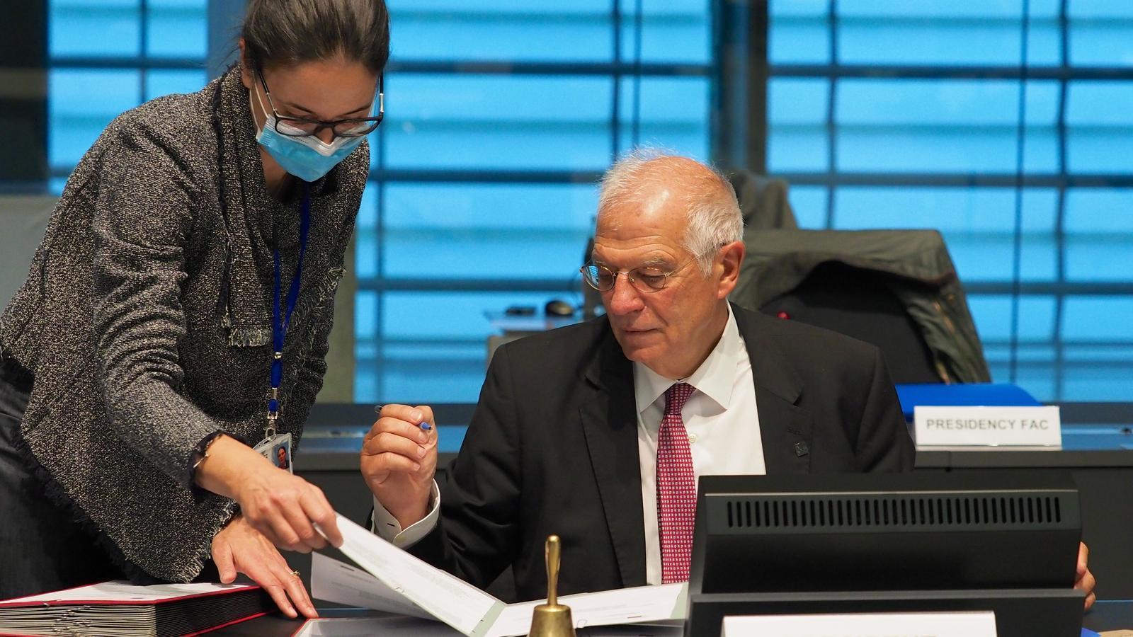 El vicepresident de la Comissió  Europea i alt representant de la UE, Josep Borrell.