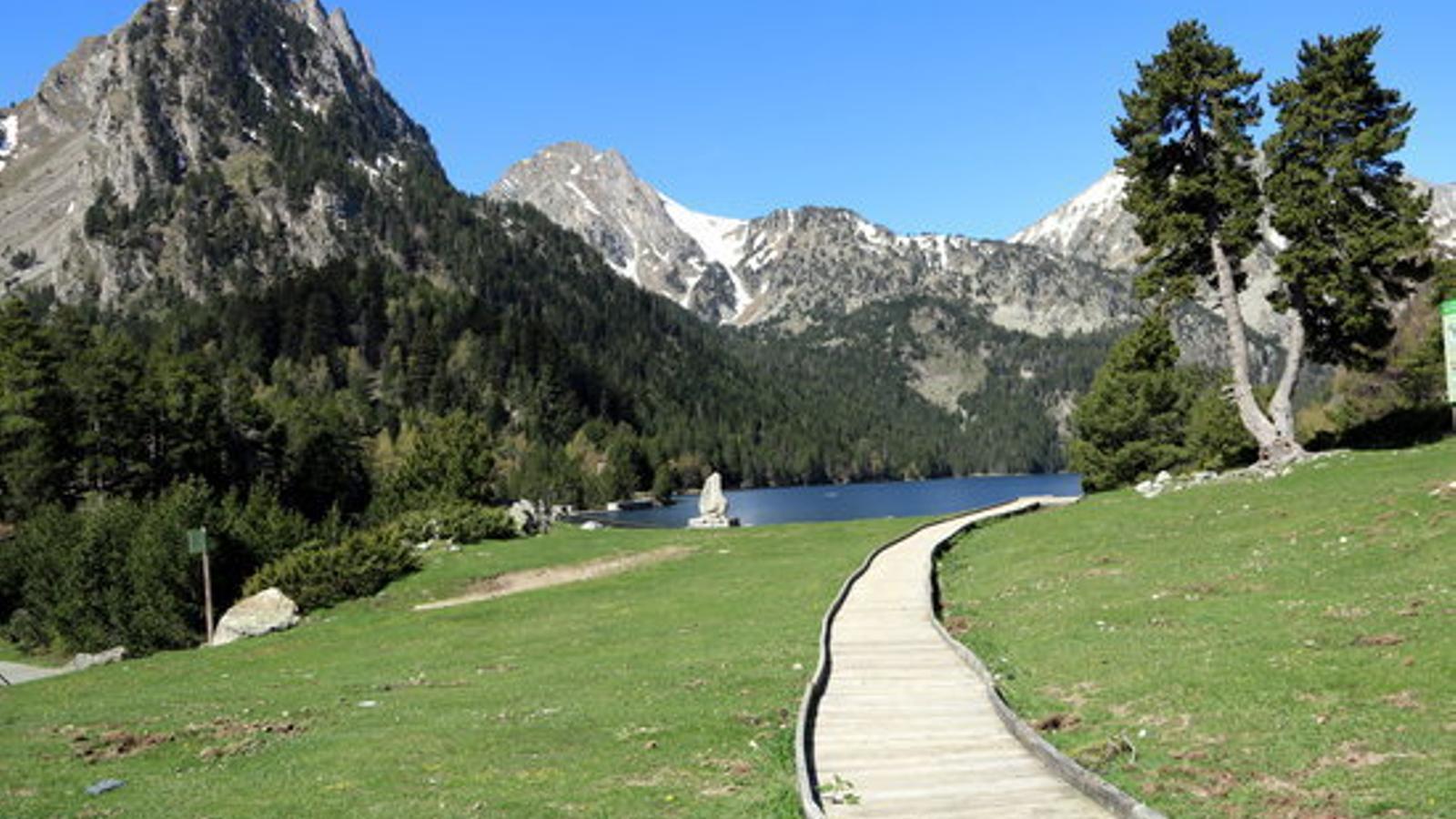 A la Vall d'Aran s'han cancel·lat la meitat de les reserves turístiques com a conseqüència del confinament del Segrià