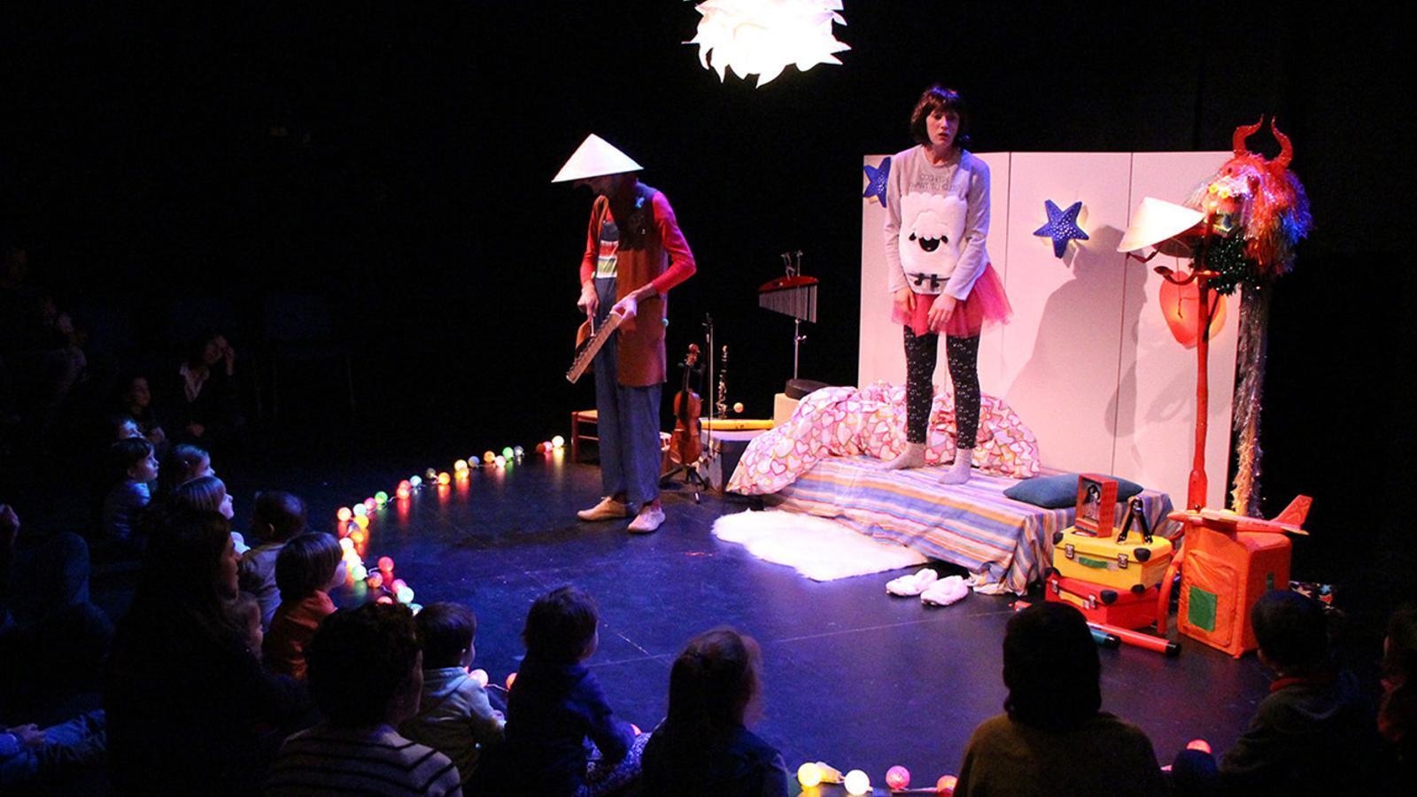 L'espectacle 'El fabulós viatge de l'estel i el domisol', que s'oferirà al novembre. / COMÚ D'ANDORRA LA VELLA