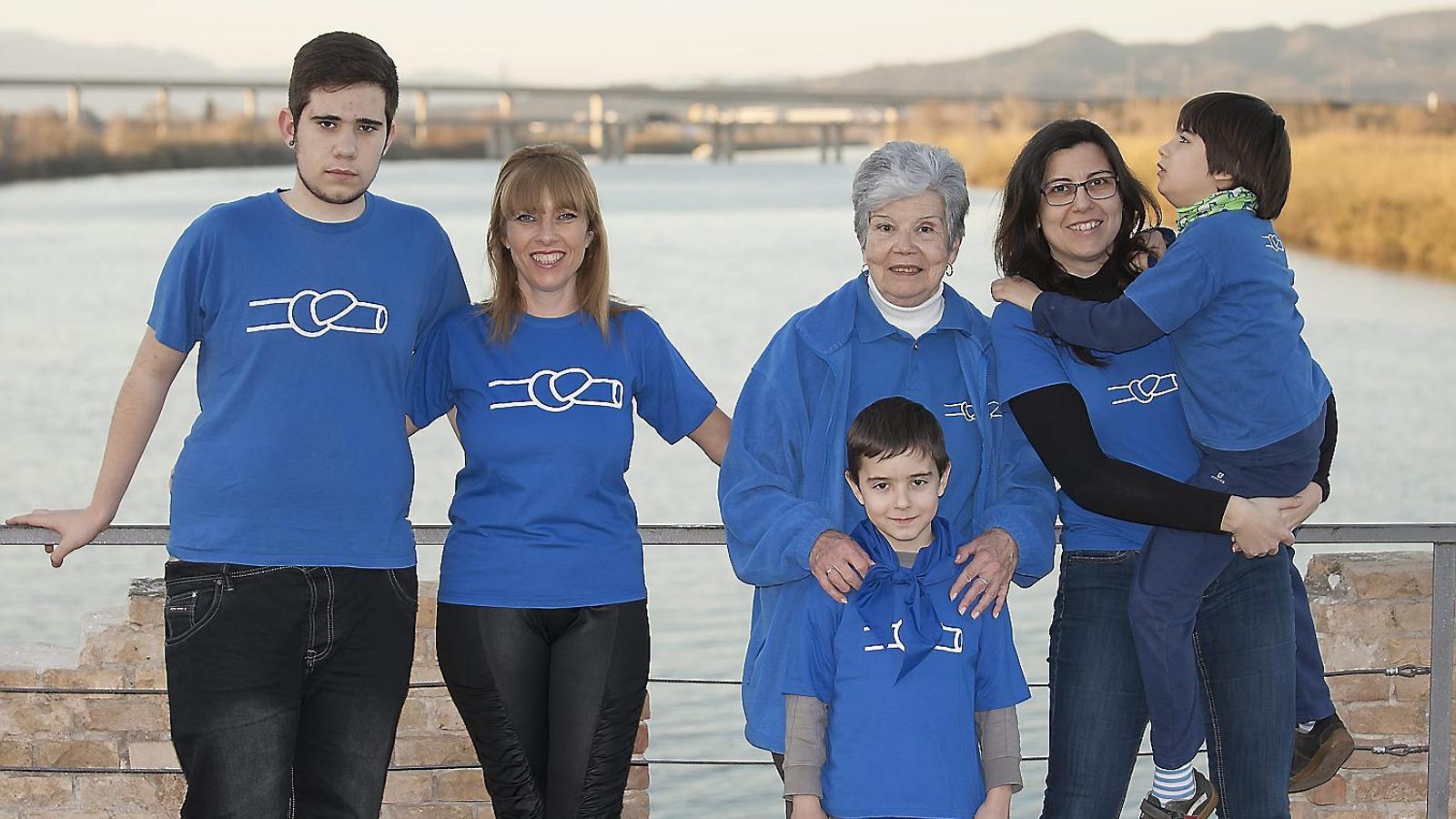 Tres generacions en defensa de l'Ebre