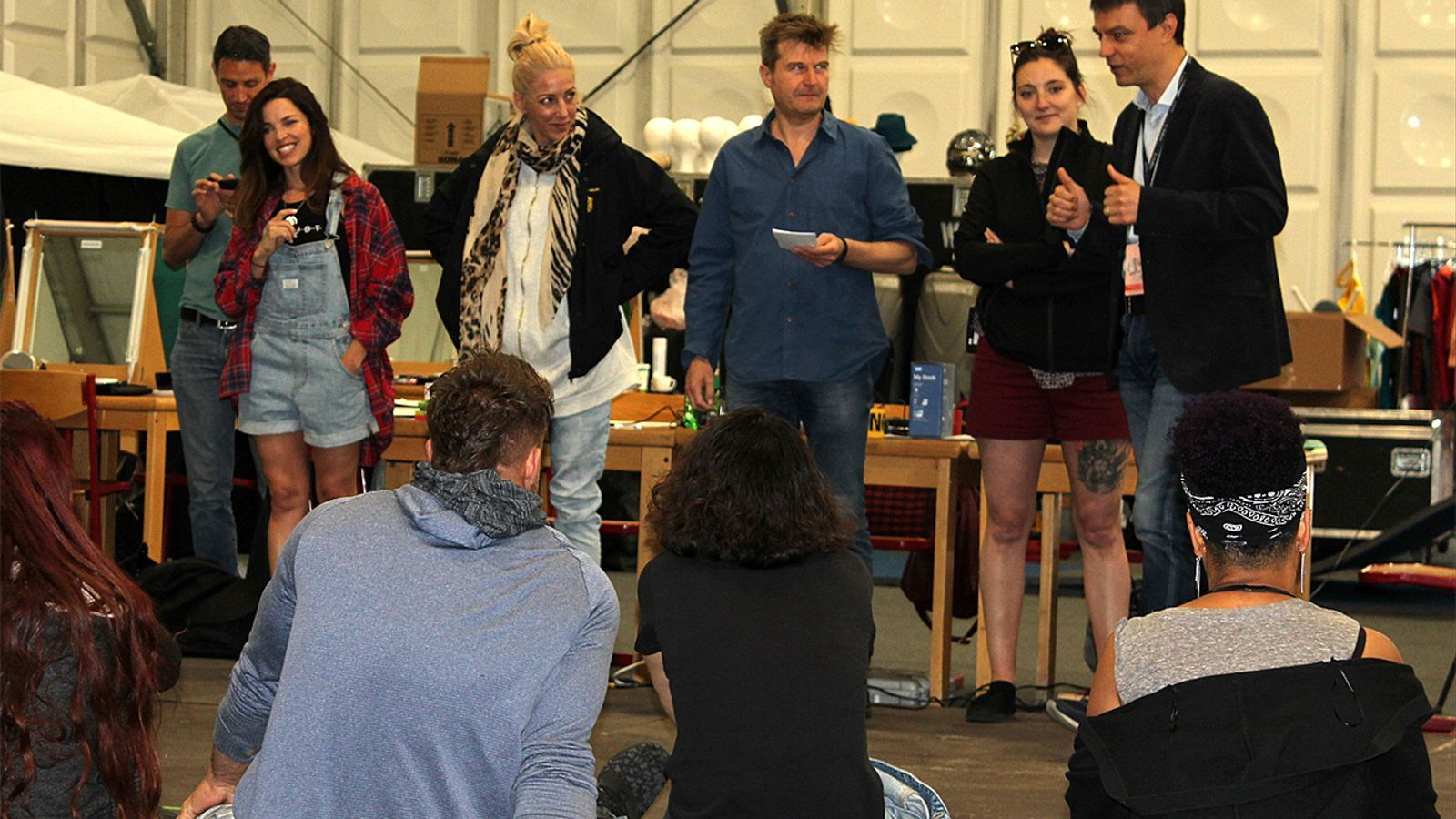 Els artistes que faran realitat l'espectacle 'Diva'. / Andorra Turisme