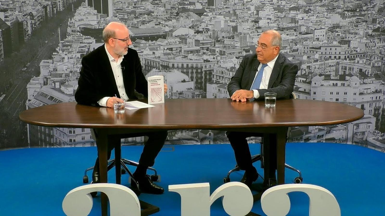 Entrevista d'Antoni Bassas a Joaquim Nadal