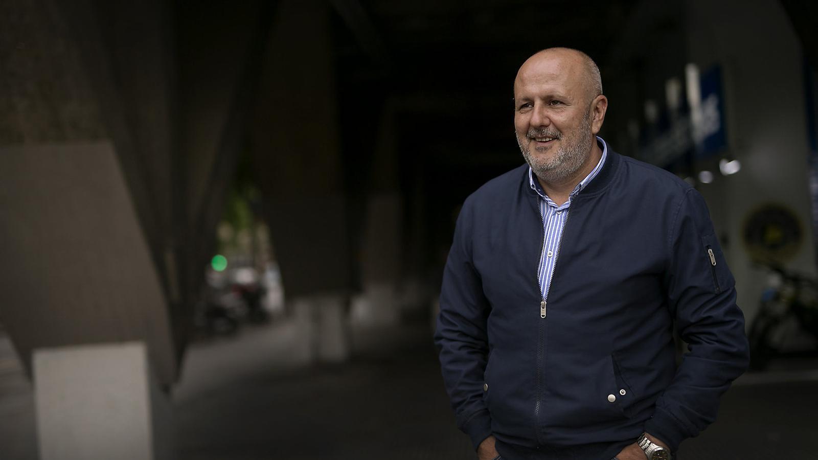 """Miquel Ensenyat: """"PP i Cs tenen por que Mallorca es contagiï del procés català"""" / PERE TORDERA"""