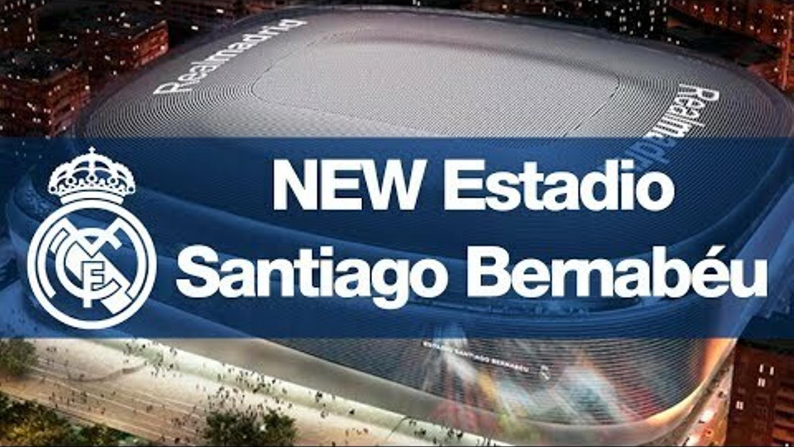 Així serà el futur estadi Santiago Bernabéu