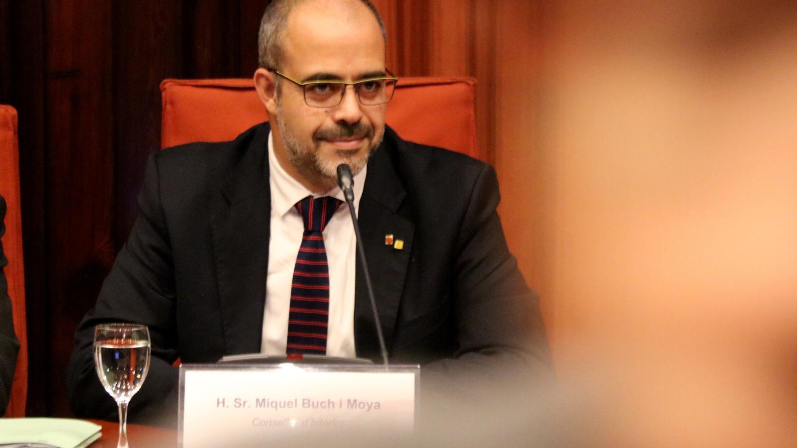 Buch diu que s'estan investigant 33 actuacions dels Mossos