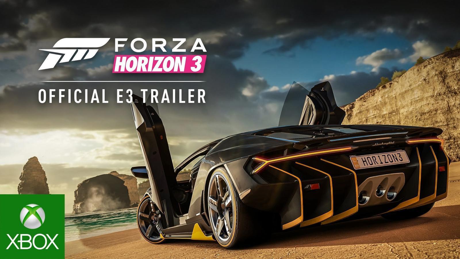 'Forza Horizon 3'