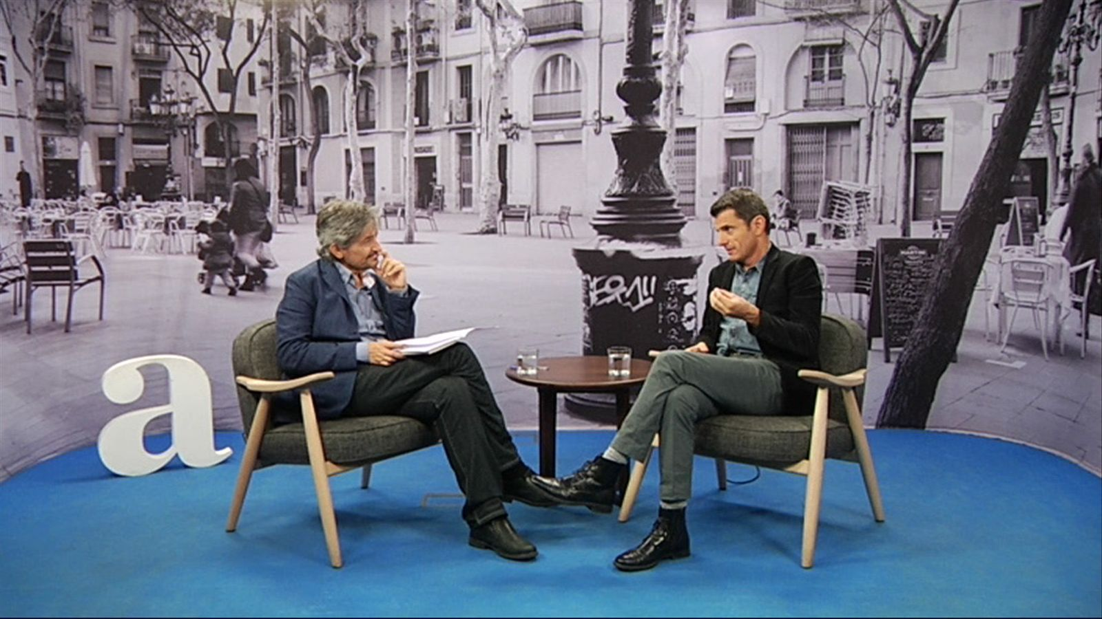 Entrevista de Carles Capdevila a Pedro Olalla
