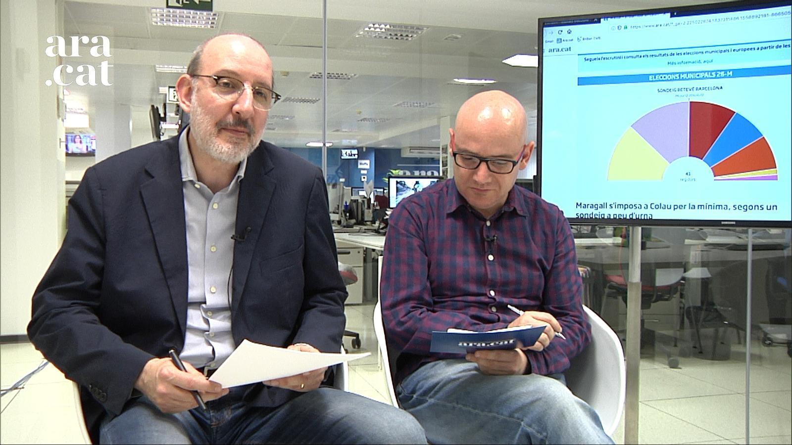 """Eleccions 26-M: """"Ens espera un recompte d'infart a Barcelona"""""""