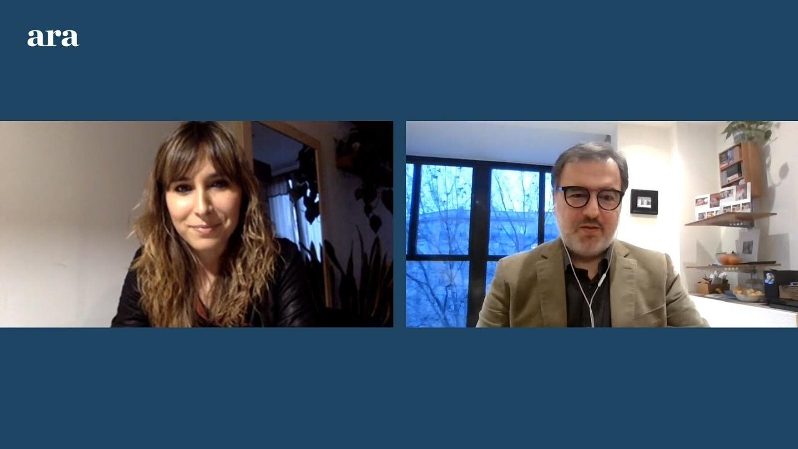 Entrevista de Núria Orriols a Marc Marsal