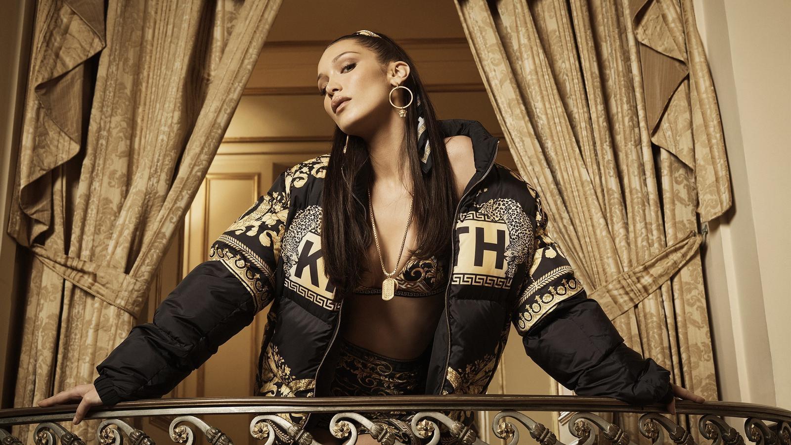 Una de les imatges de la campanya Kith X Versace