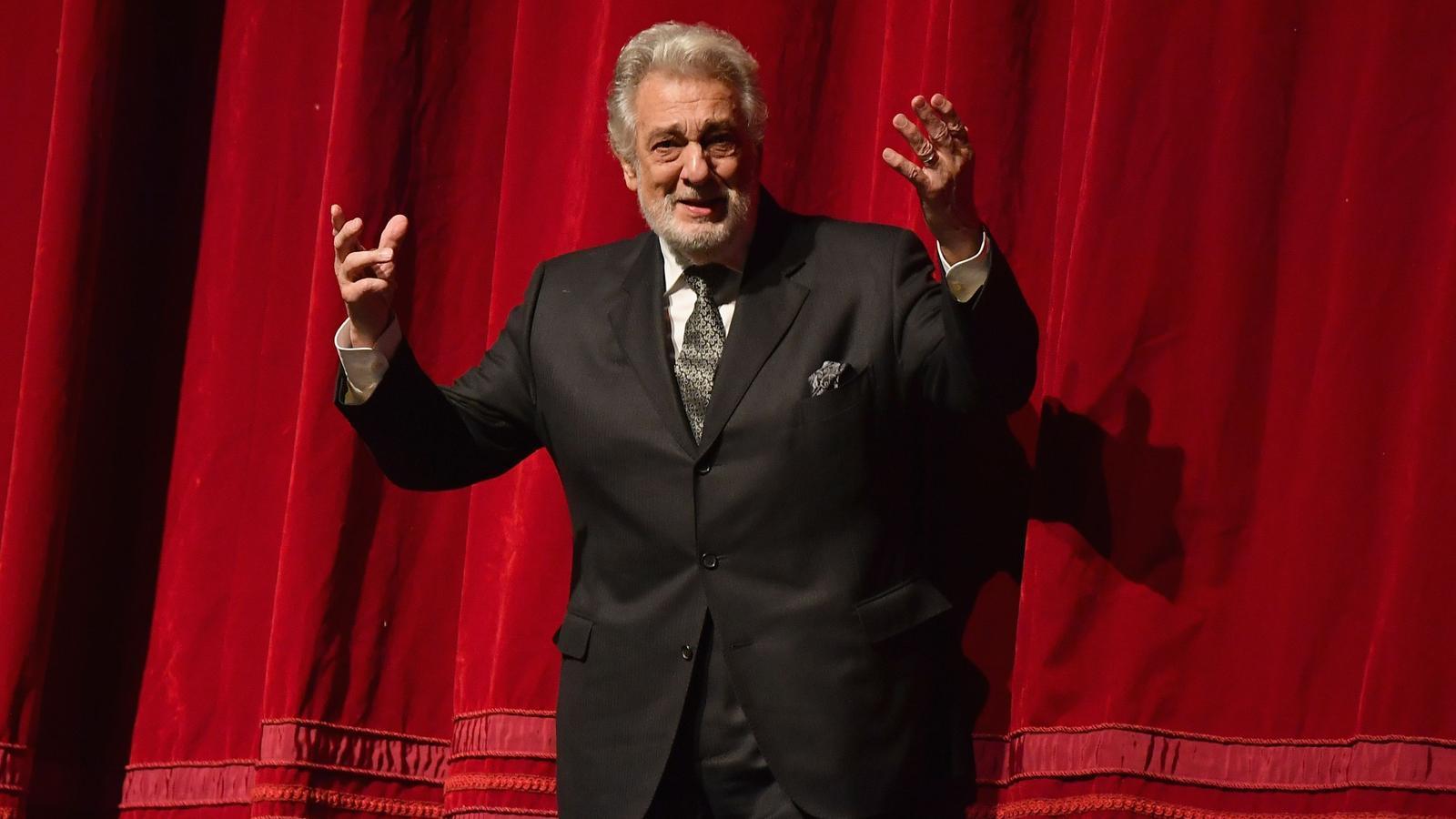 Plácido Domingo en una imatge d'arxiu de 2018.