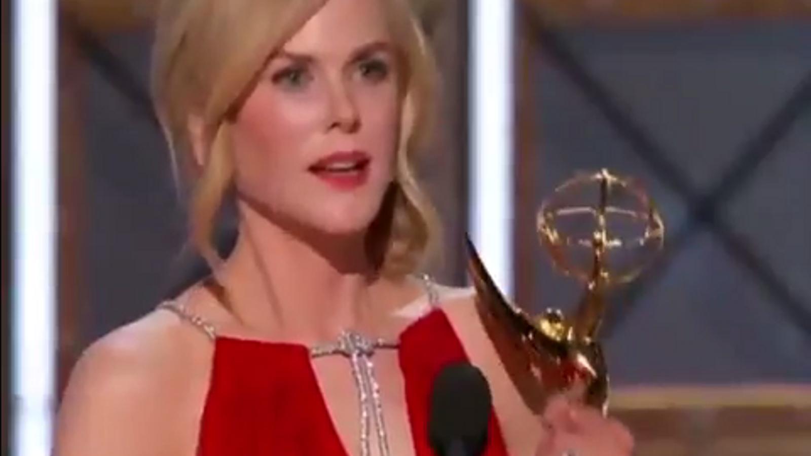 El discurs de Nicole Kidman