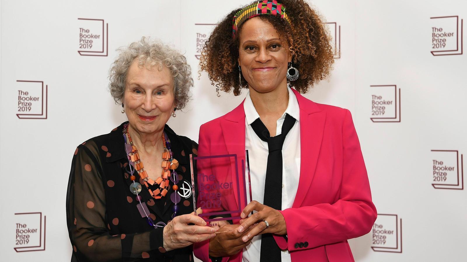 Margaret Atwood i Bernardine Evaristo