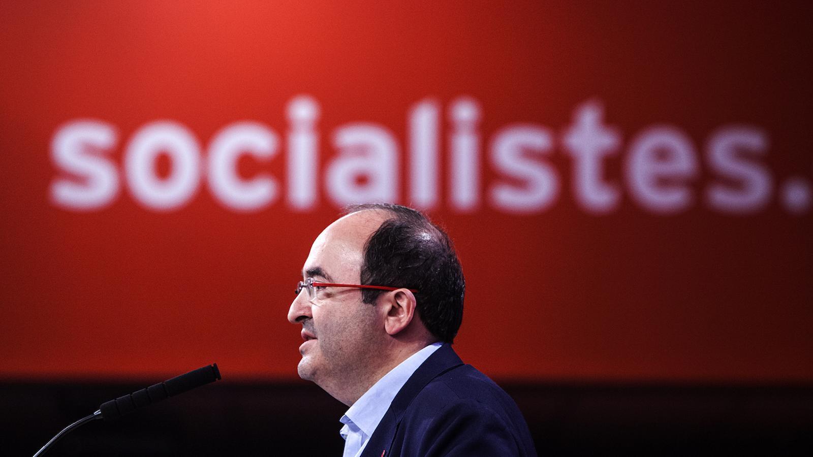 Iceta aspirarà a revalidar la primera secretaria del PSC en unes primàries el 30 de novembre