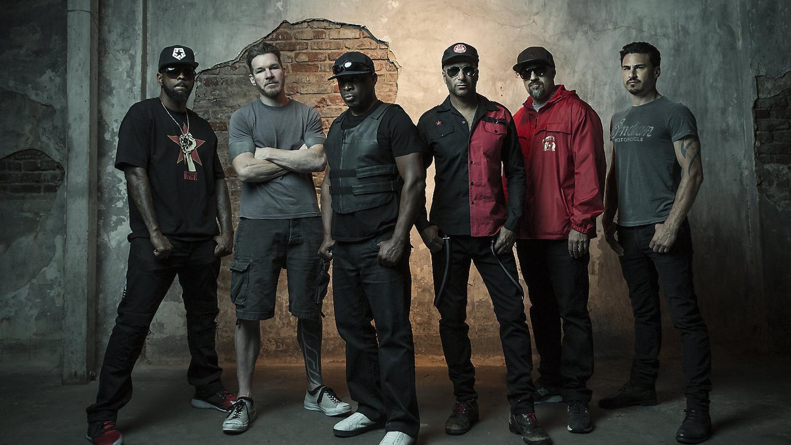 Prophets Of Rage, amb membres de Public Enemy, Cypress Hill i RATM.