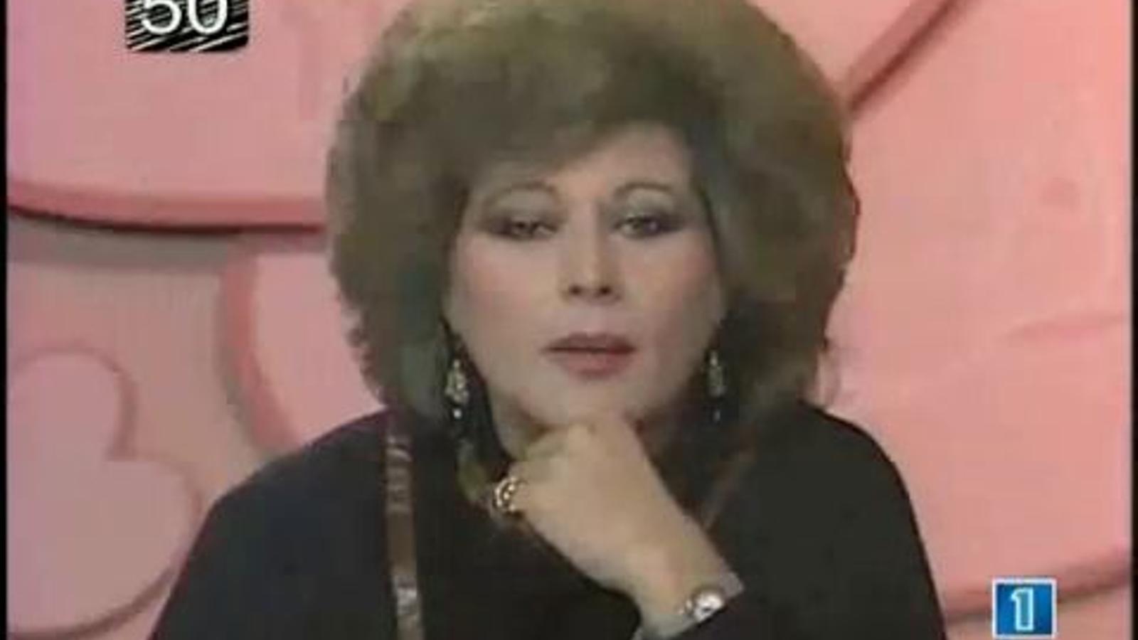 Marisa Naranjo, que presentarà les campanades de Neox, es va embolicar pel Cap d'Any del 1989