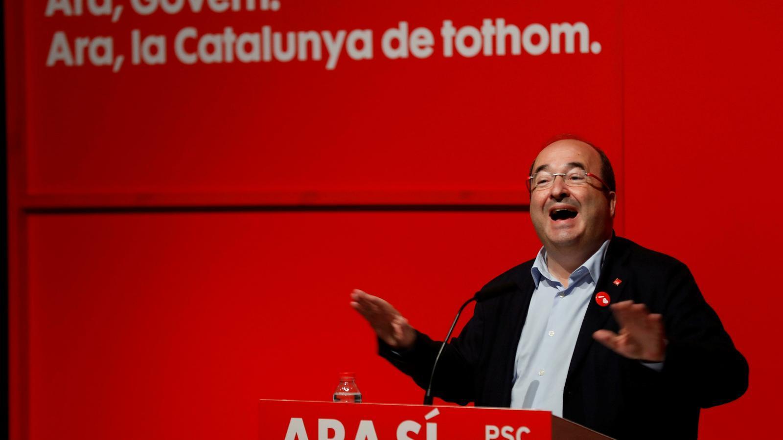 La triple campanya de Miquel Iceta