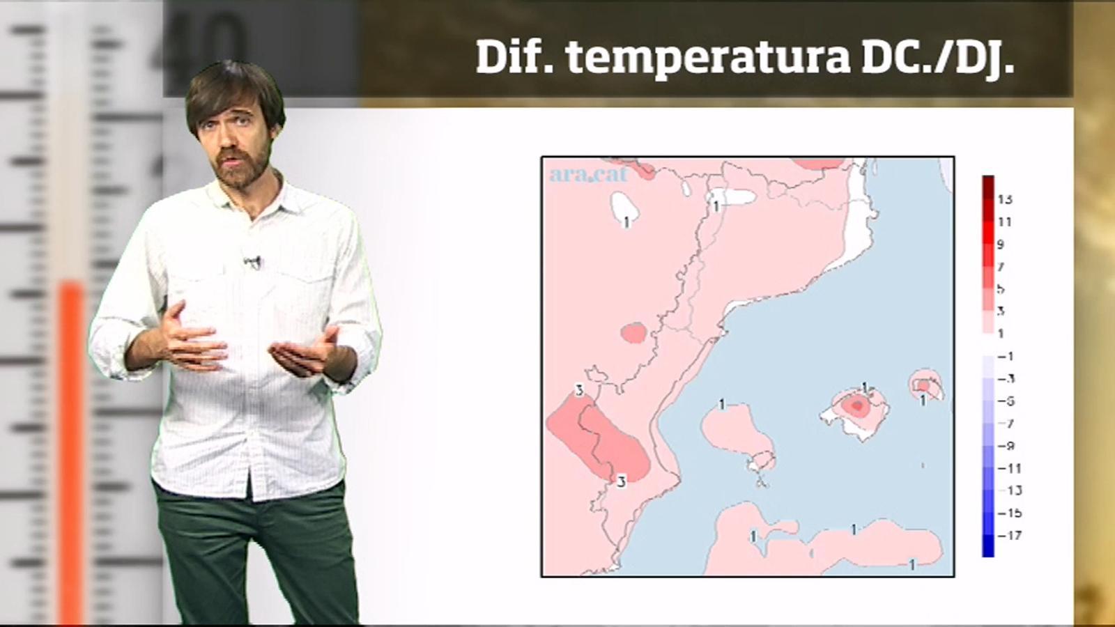 La méteo en 1 minut: calor encara més intensa