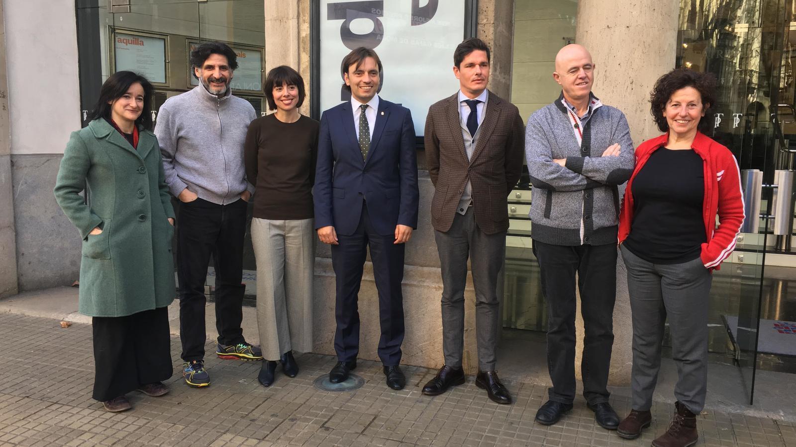 Presentació de les convocatòries de residències al Teatre Principal de Palma.