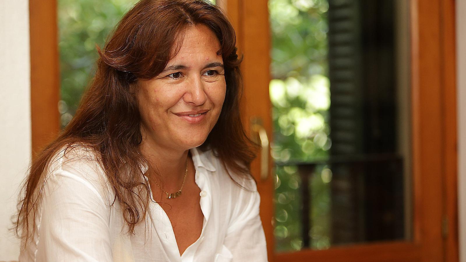 """Laura Borràs: """"Els que volen la nostra cultura fragmentada és que no la volen"""""""