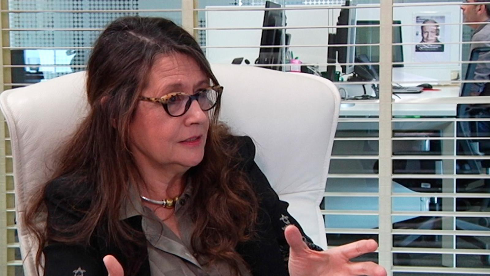 """Helena Guardans: """"La dona no es promociona dins l'empresa perquè, a diferència de l'home, no comunica la feina que fa"""""""