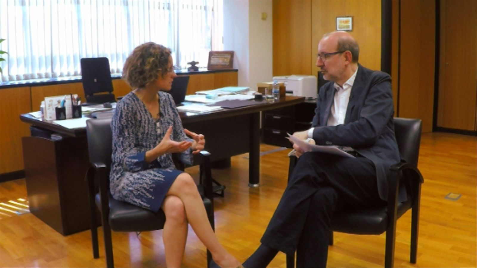 Entrevista d'Antoni Bassas a Meritxell Ruiz