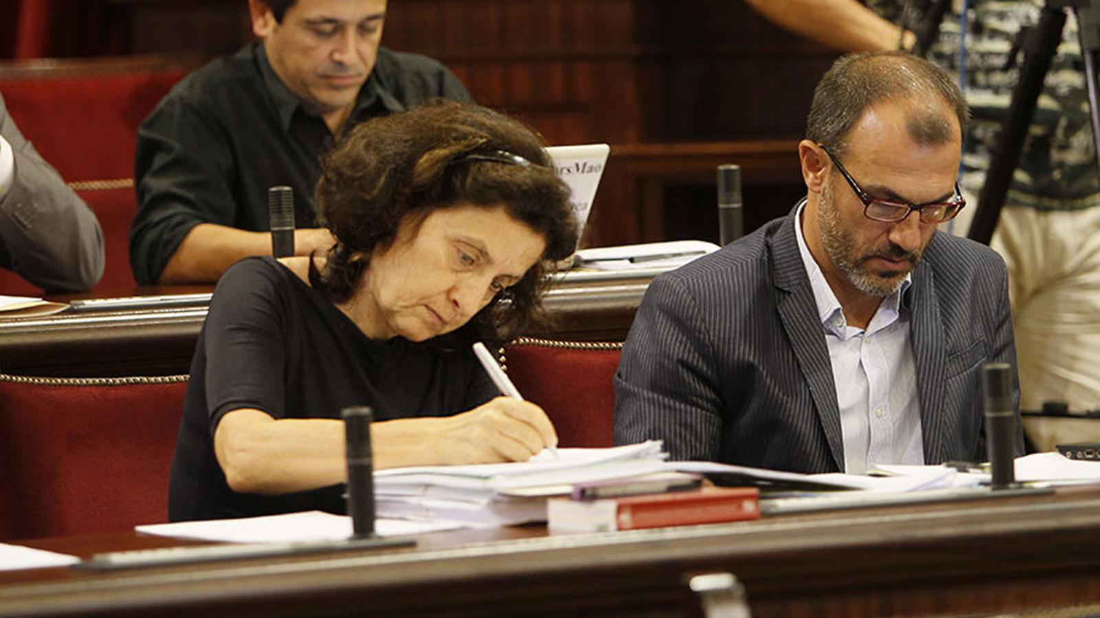 La consellera de Serveis Socials i Cooperació, Fina Santiago. / ARA BALEARS