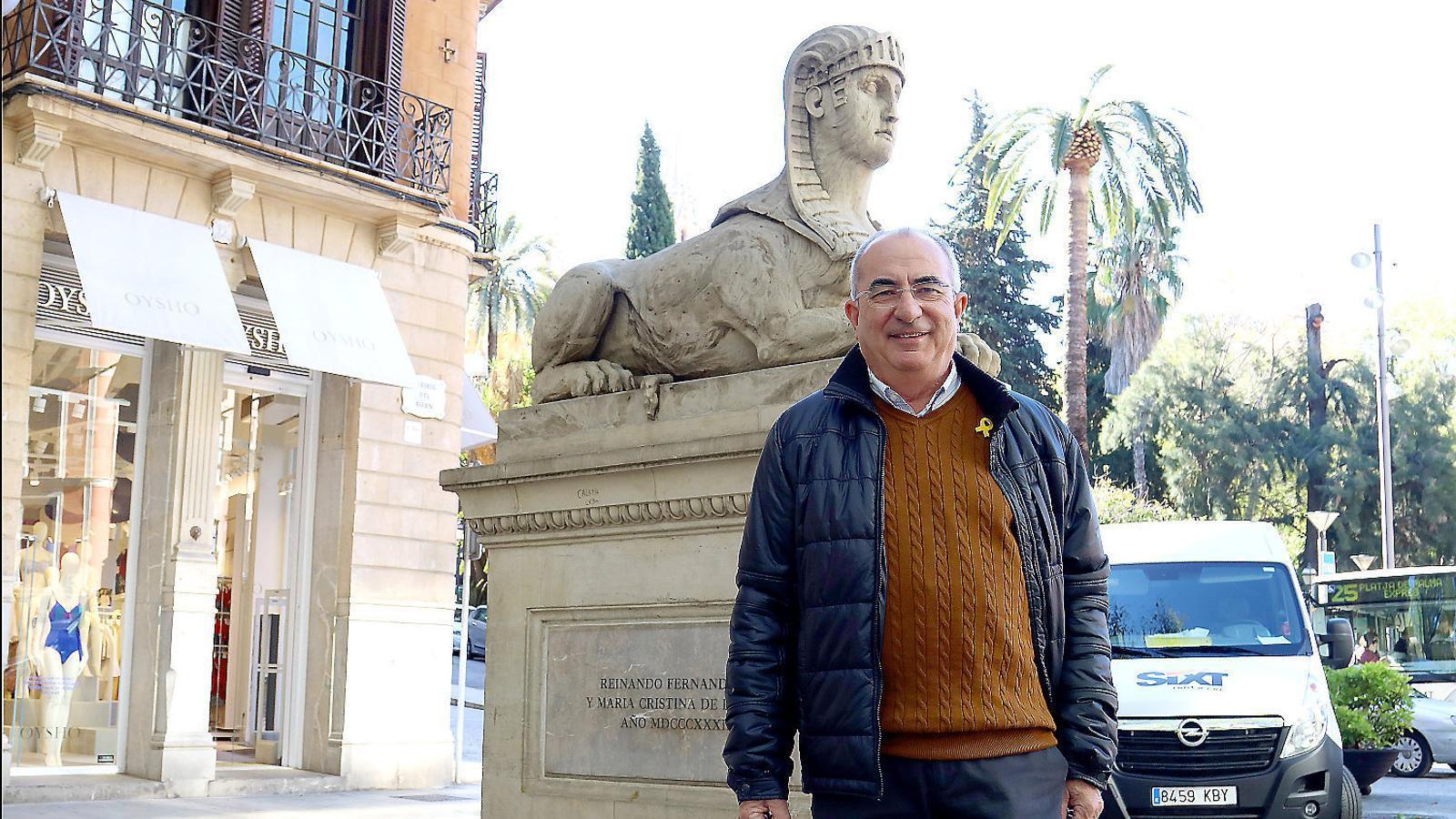 """Tòfol Soler: """"Arribaran tan lluny com faci falta per no donar la independència"""" / ISMAEL VELÁZQUEZ"""