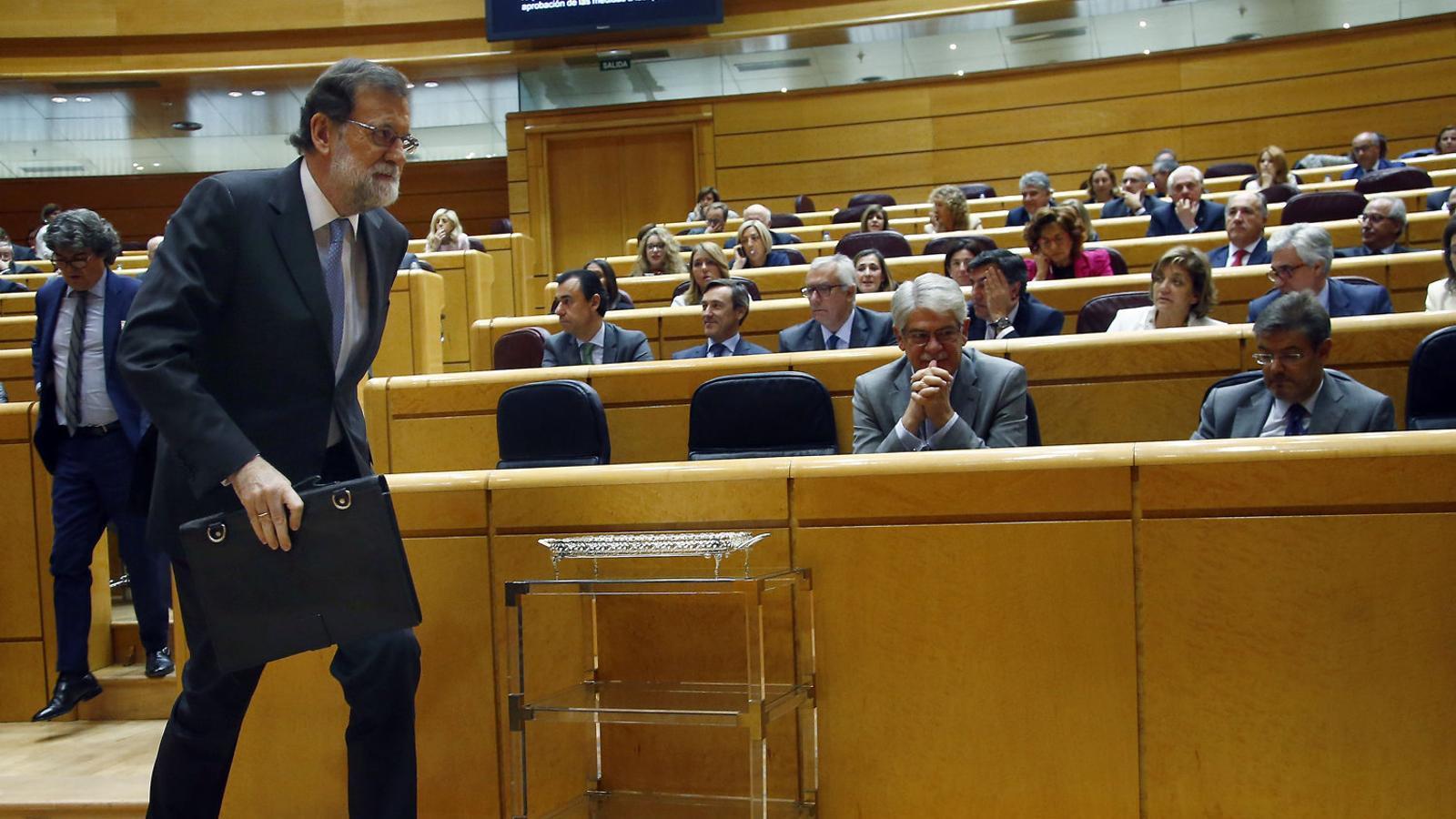 Avui fa un any El pp bloqueja que puigdemont comparegui al senat pel 155