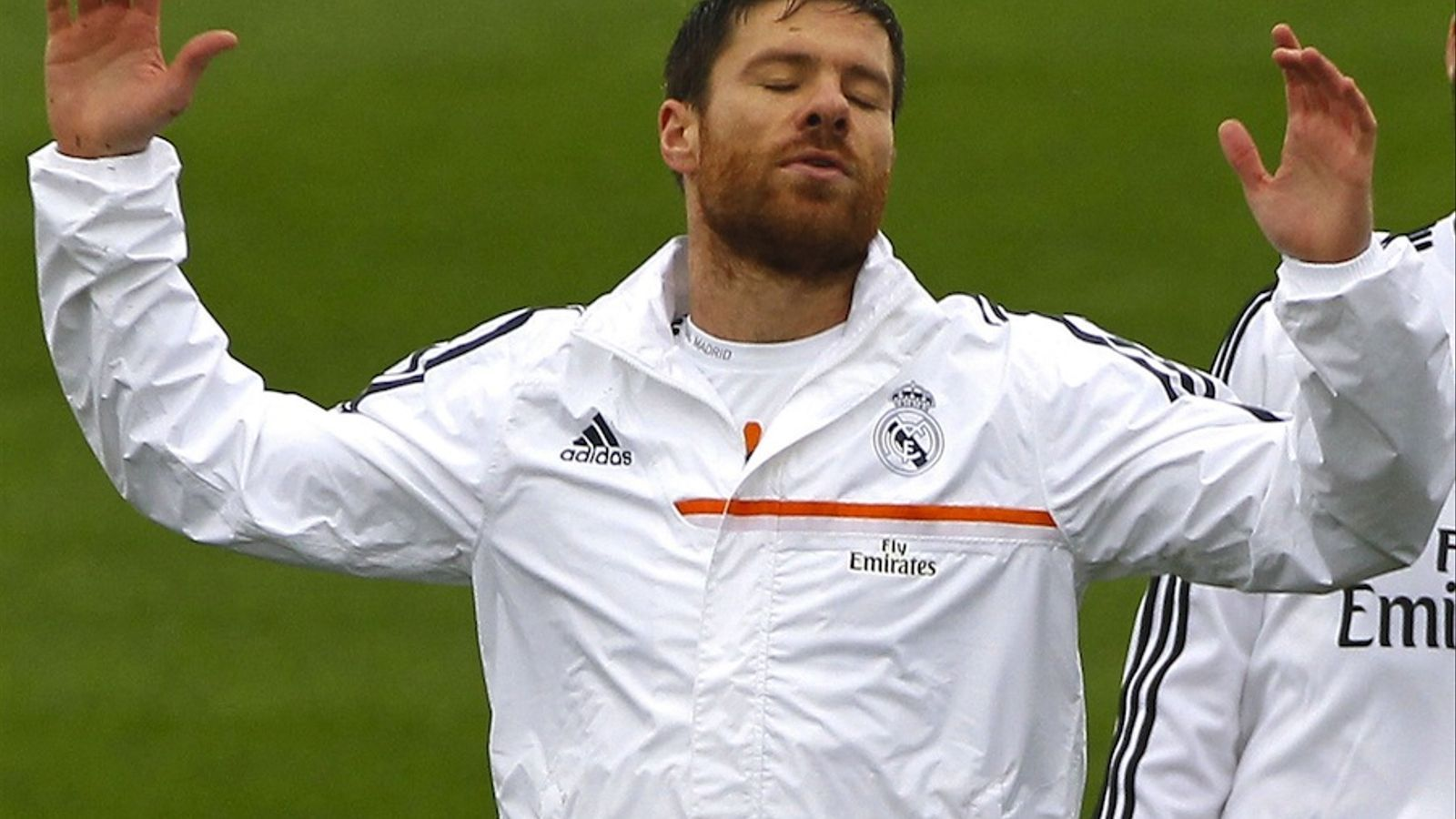 Xabi Alonso, durant un entrenament del Reial Madrid / KIKO HUESCA / EFE