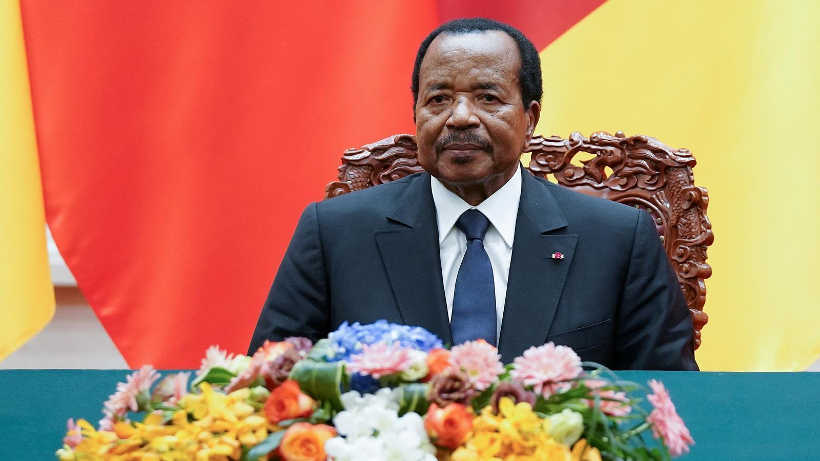 El president del Camerun, Paul Biya.