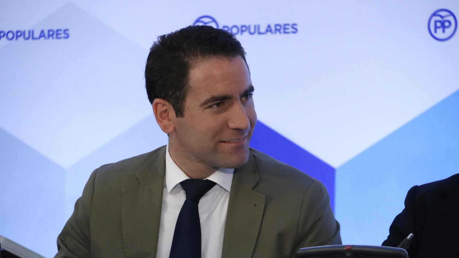 El nou secretari general del PP, Teodoro García Egea, en una imatge d'arxiu