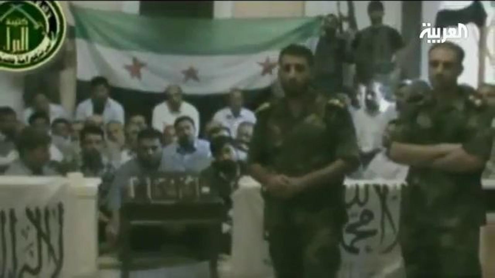 Els rebels sirians reivindiquen en un vídeo el segrest de 48 irianians
