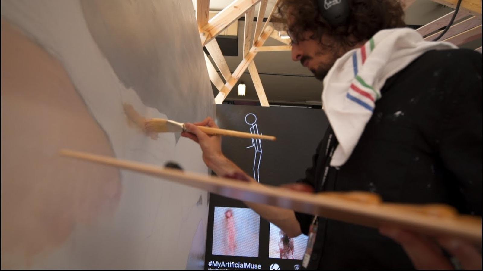El projecte 'My artificial muse' d'Albert Barqué-Duran
